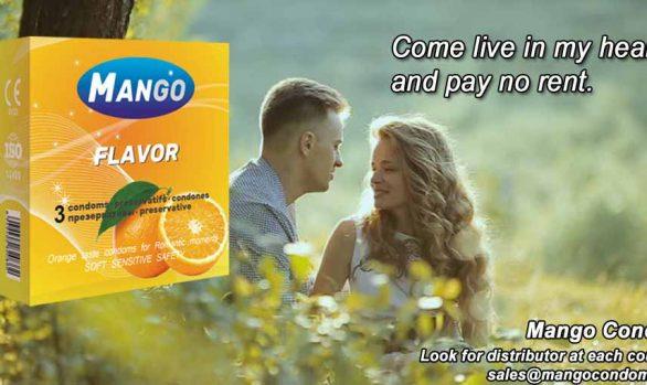 flavored condom