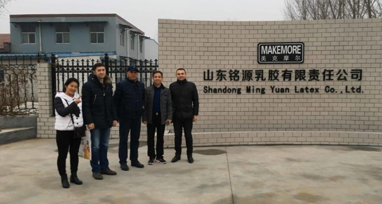 welcome Uzbekistan client visit our factory