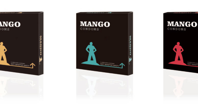 Mango condom types of condom