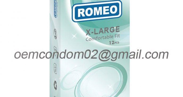 ROMEO brand large condom