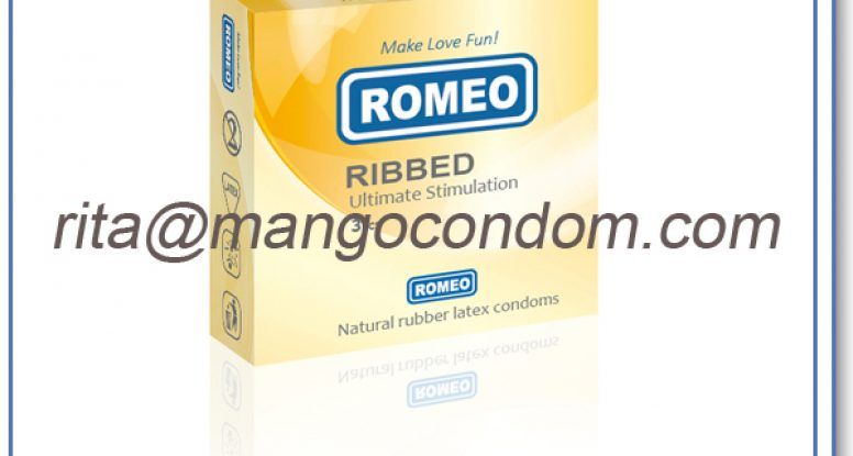 ribbed condoms,ROMEO brand ribbed condoms,ribbed condom