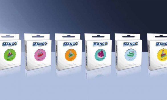 Mango Spike Condom
