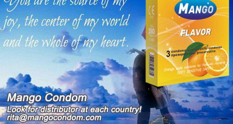 flavor condom,taste condom,orange flavor condom
