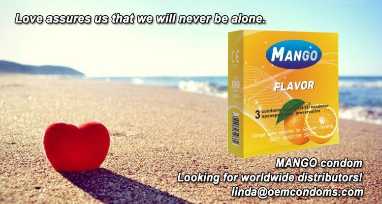 Flavored condom, MANGO flavored condom, flavored condom manufacturer
