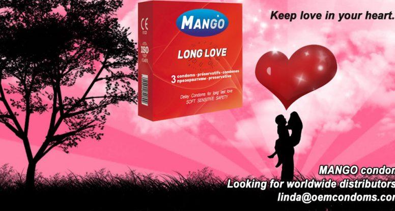 MANGO brand condom, Long love condom, Long lasting condom manufacturer, delay condom supplier