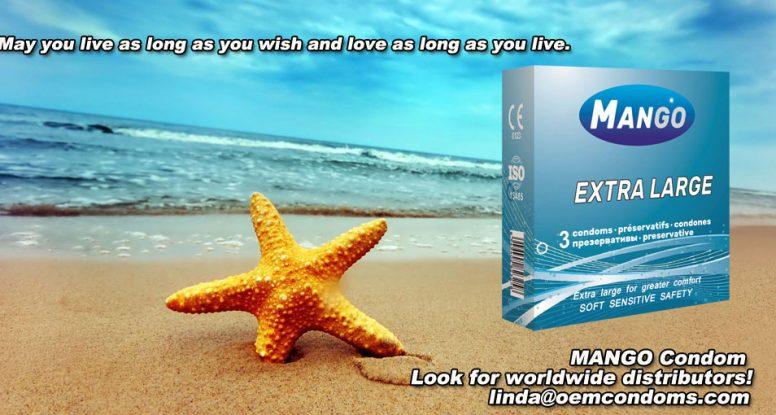 MANGO brand condom, brand condom manufacturer, extra large condom supplier