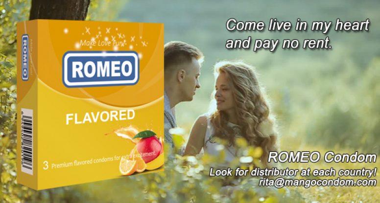 ROMEO Flavored condom