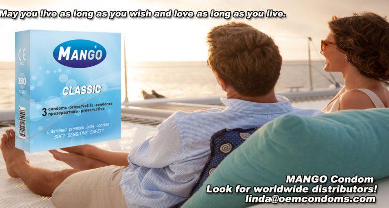MANGO classic condom, MANGO brand condom manufacturer, MANGO brand condom producer