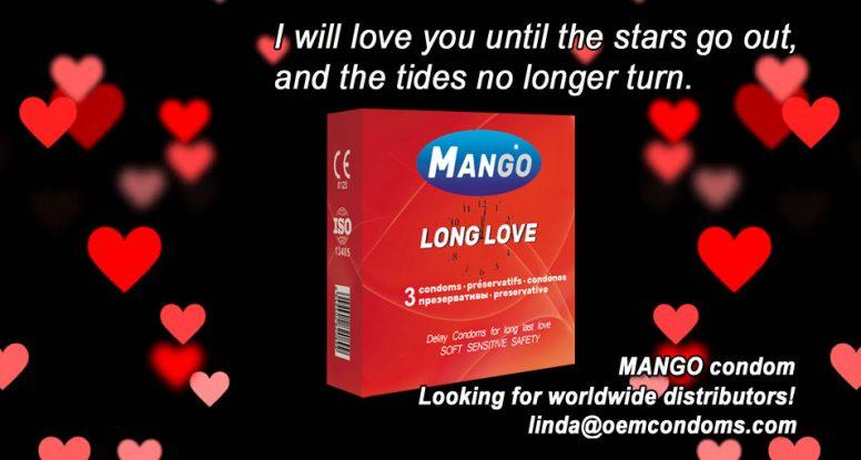MANGO condom, MANGO brand condom, MANGO long love manufacturer