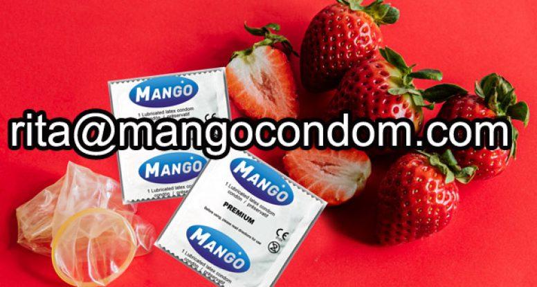 strawberry flavored condoms