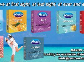 MANGO condom, MANGO brand condom supplier, best brand condom manufacturer