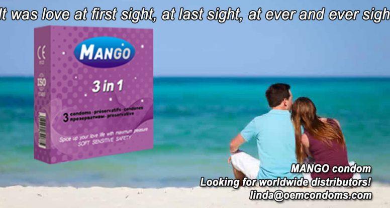 MANGO brand condom, 3 in 1 condom manufacturer, OEM branded condom manufacturer