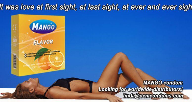 MANGO brand condom, MANGO flavored condom, MANGO brand condom producer