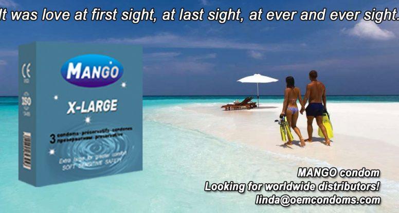 MANGO condom, MANGO extra large condom. large condom manufacturer