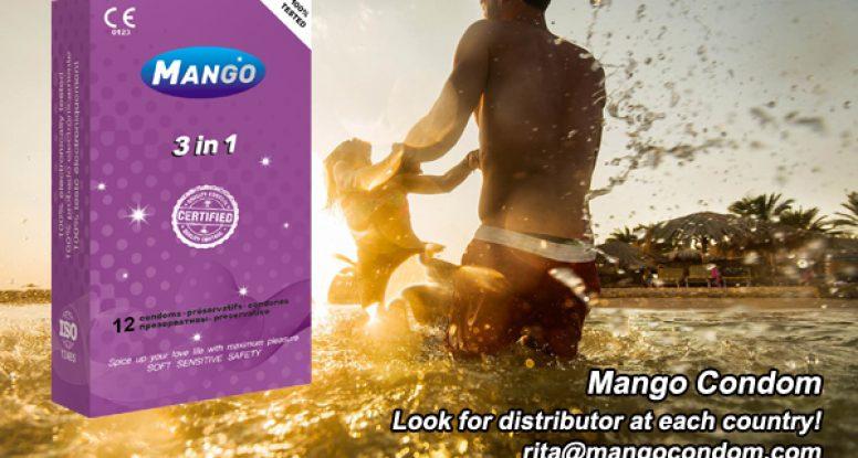 mango brand condom,3 in 1 condom,contoured condom