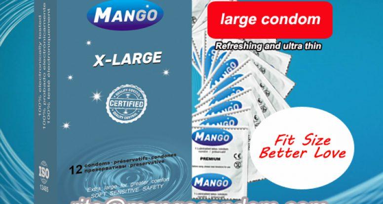 large size condoms,big condom,fit size condom