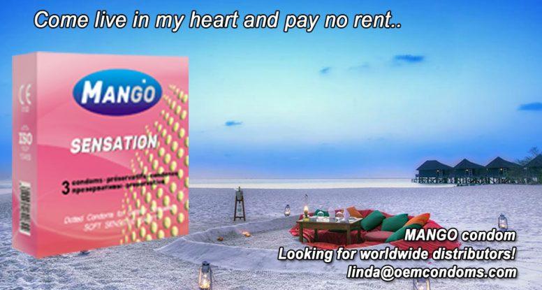 MANGO condom, MANGO studded condom, MANGO brand condom manufacturer