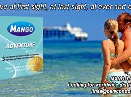 MANGO condom, best brand condom, ribbed condom manufacturer