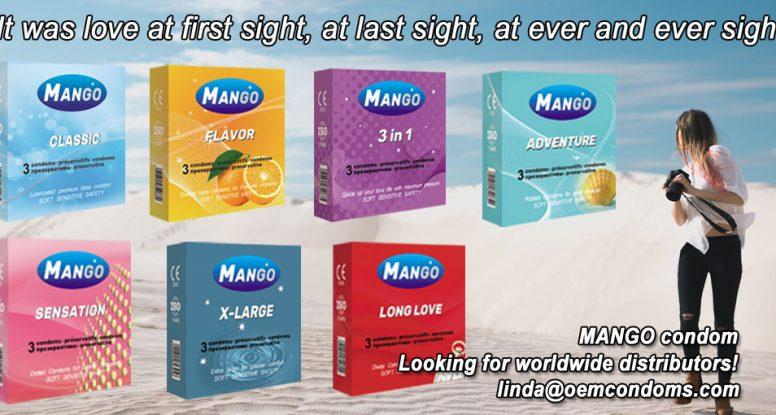 MANGO condom, mango condom supplier, condom manufacturer