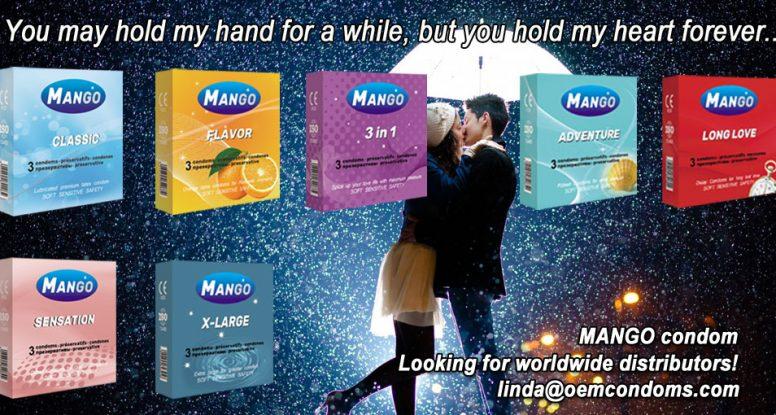 MANGO types of condoms