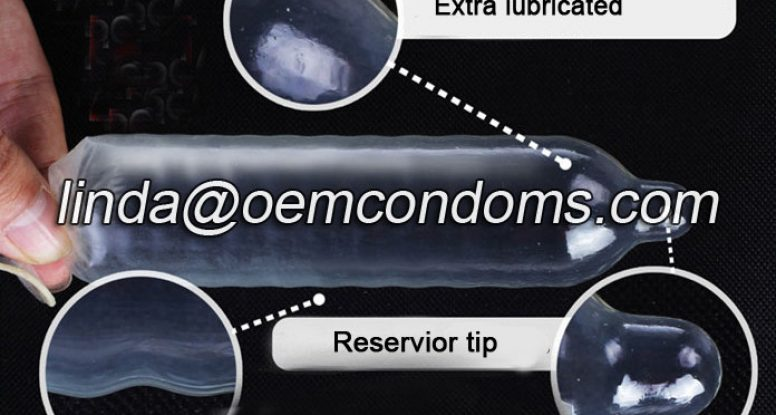 silicone lubricated condom